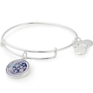 Art Infusion MOON and STARS BANGLE Bracelet